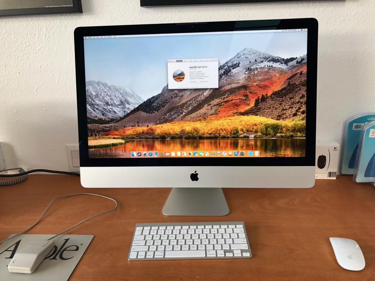iMac (27-inch, Late 2013)  3.2Ghz Quad Core i5 8GB Ram 1TB