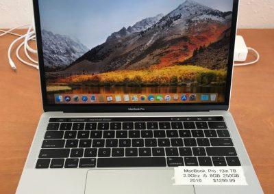 Macbook Pro 13in 2016