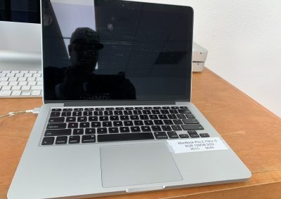 USED 13in MacBook Pro 2015 2.7Ghz 2 Core i5 8GB 128GB SSD Silver