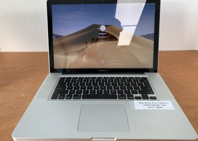 USED 15in MacBook Pro 2012 2.3Ghz 4 Core i7 16GB Ram 500GB SSD  Silver with CD Player