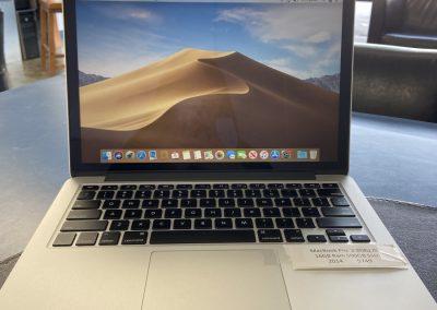 Used MacBook Pro 13in 2014 2.8Ghz i5 16GB Ram 250GB SSD
