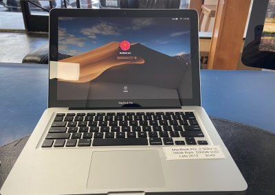 Used 2012 MacBook Pro Late 2.5Ghz i5 16GB Ram 500GB SSD